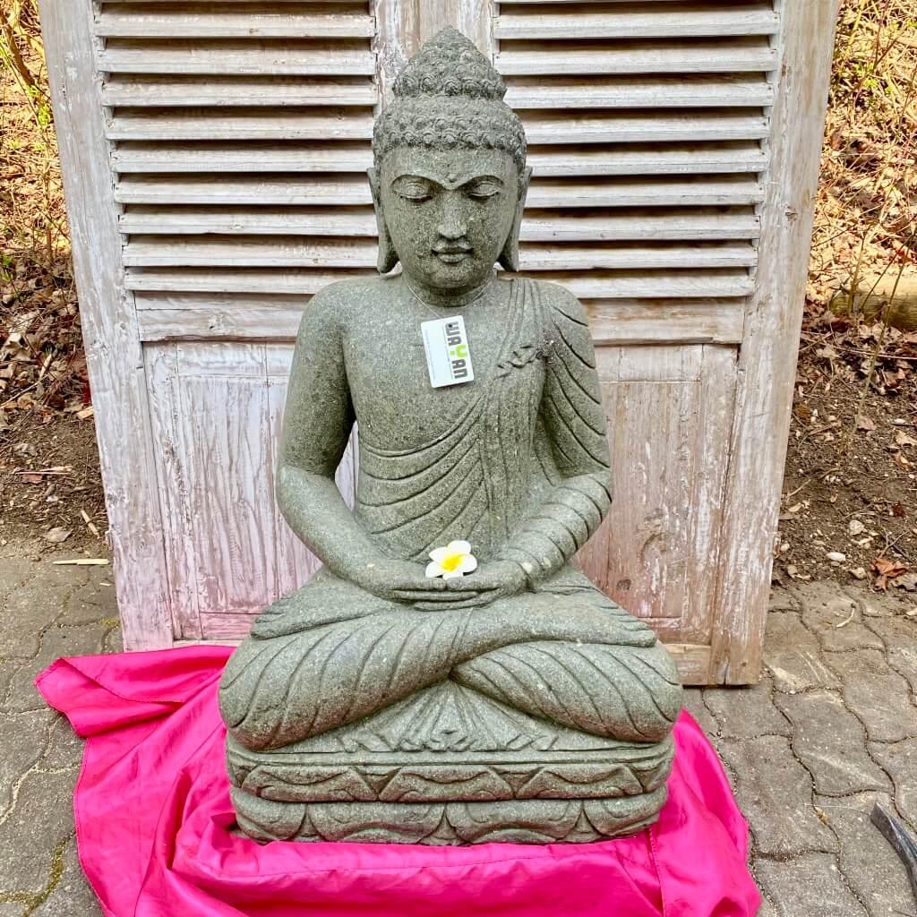 Buddha Gartenskulptur Unikat 100 cm