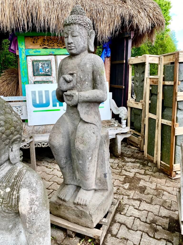 Bali Monsoon Steinbuddha 180 cm