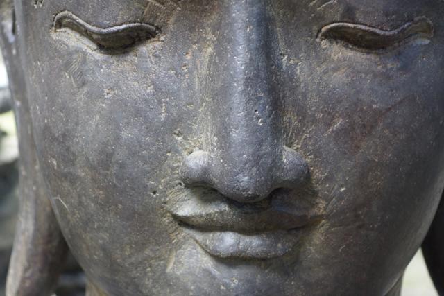sanftmütiger Buddha