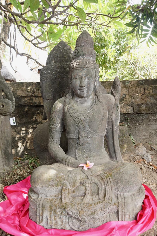Gartenskulptur Göttin Dewi Tara