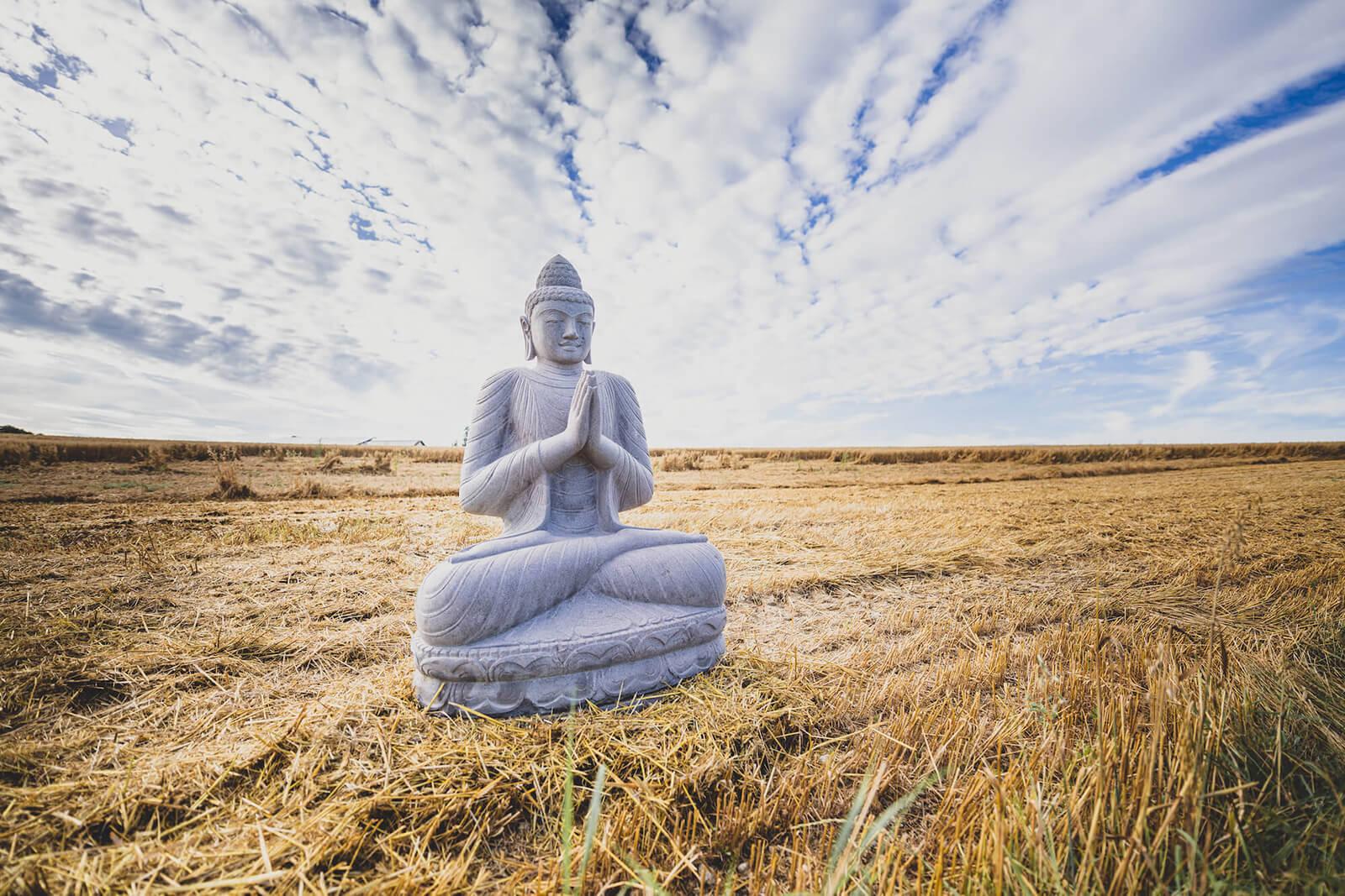 Geweihte Buddhas mit dem Spirit einer buddhistischen Zeremonie