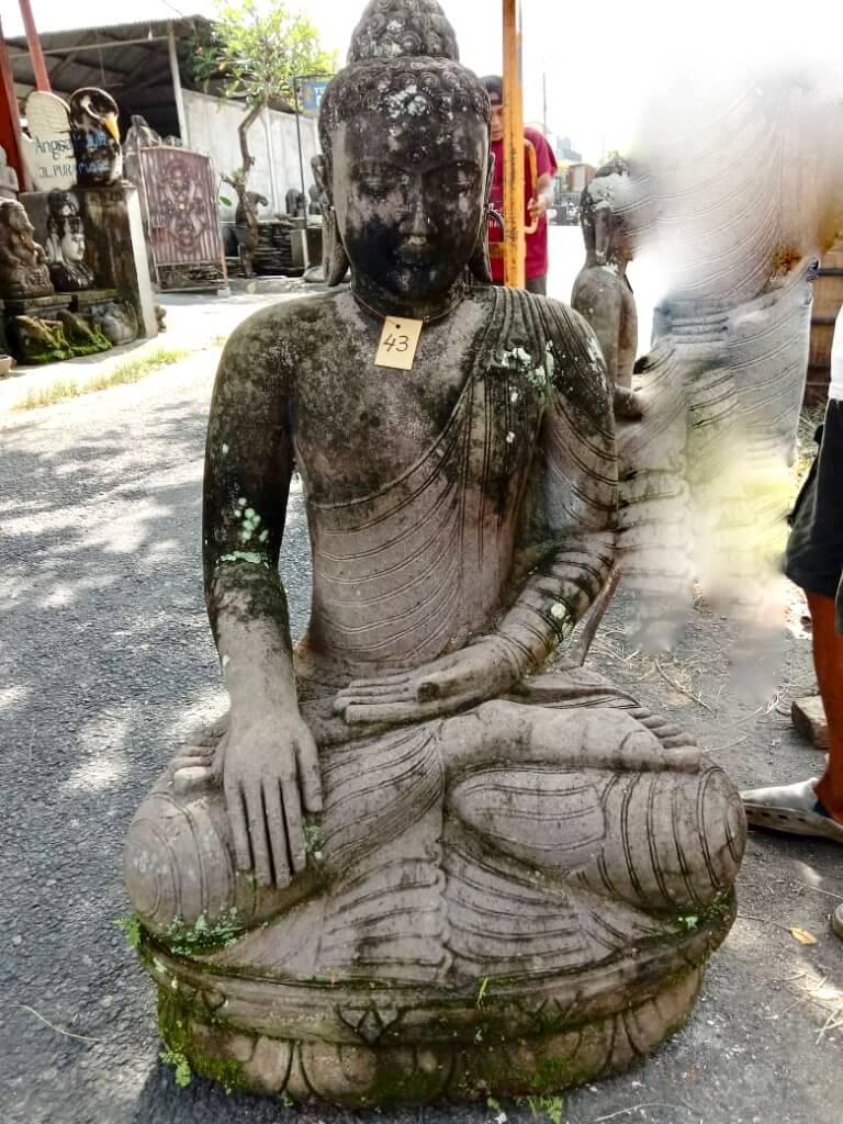 Monsoon Buddhastatue mit Spirit 124 cm