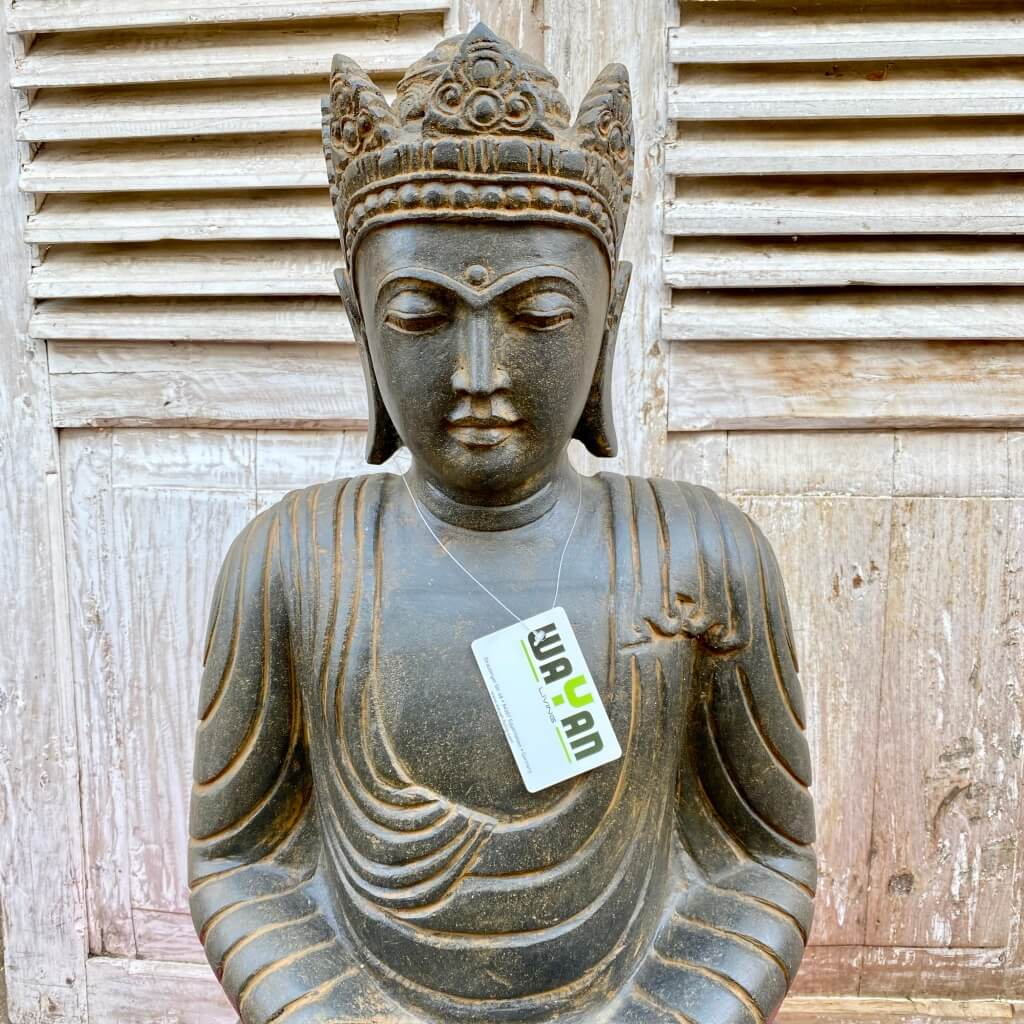 Buddha King Riverstone 81 cm