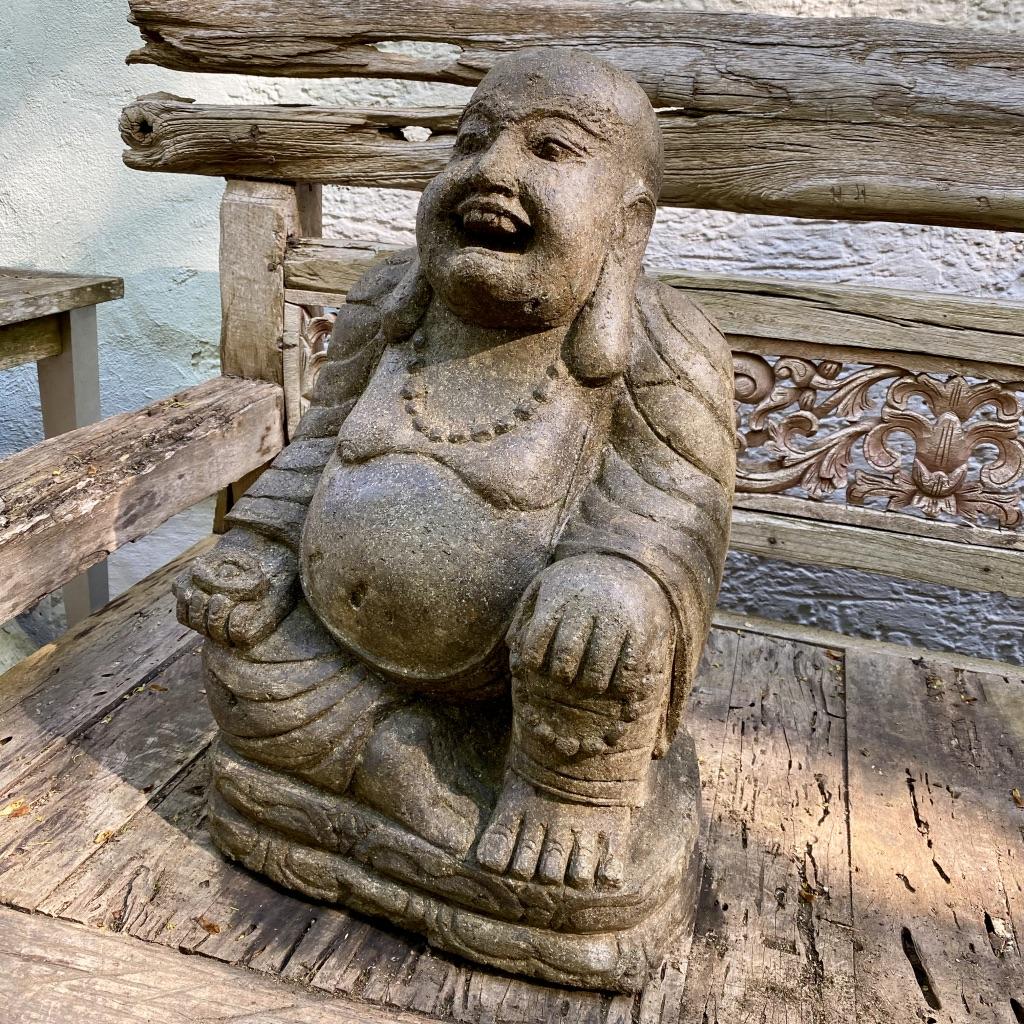 Happy Buddha mit den Glücksgenen 63 cm