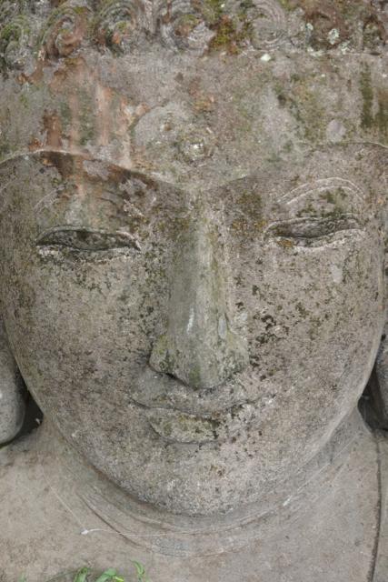 Steinbuddha Kopf