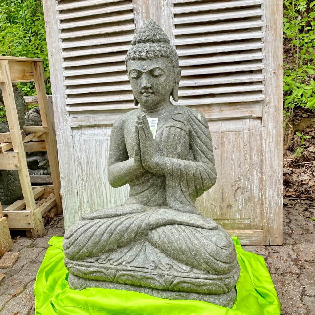 Grüßender Bali Buddha 96 cm