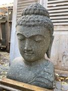 Buddhakopf Steinbüste 82 cm