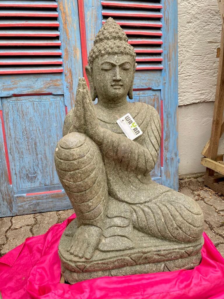 Relax Buddhafigur Stein 83 cm