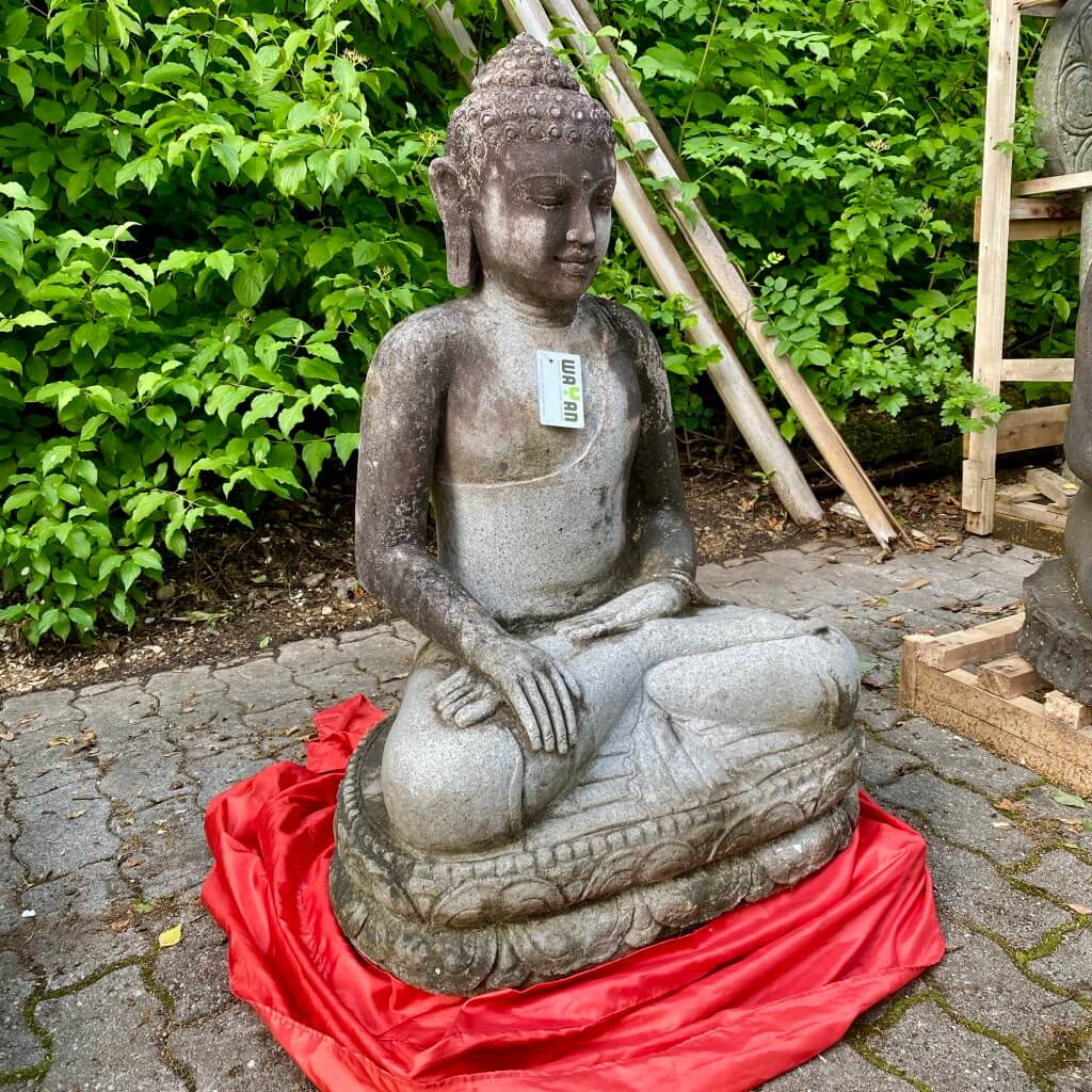 Buddhaskulptur Monsoon 95 cm