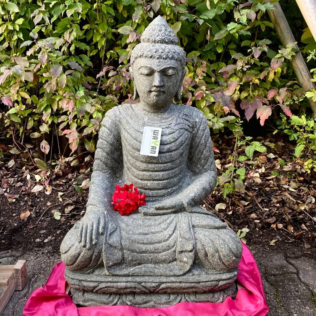 Buddha Gartenskulptur 82 cm