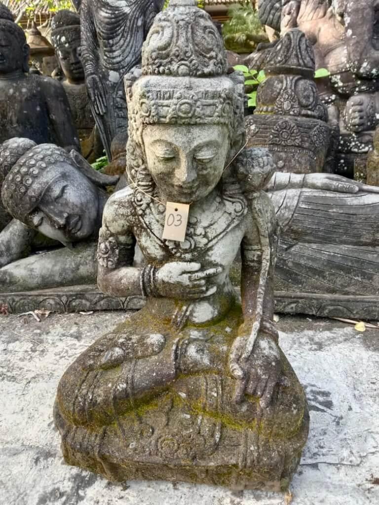 Göttin Dewi Steinstatue 85 cm