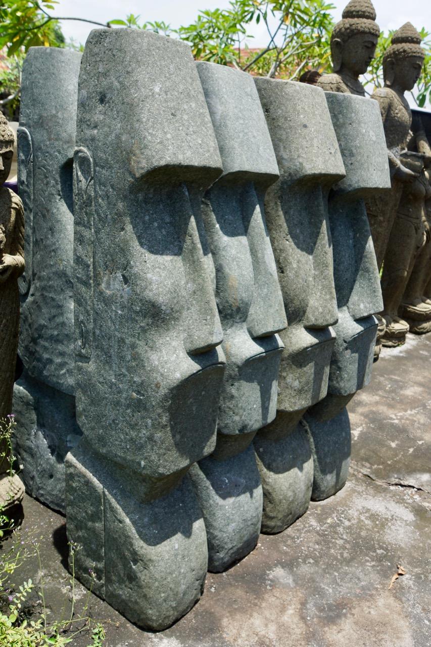 Osterinselköpfe Moai