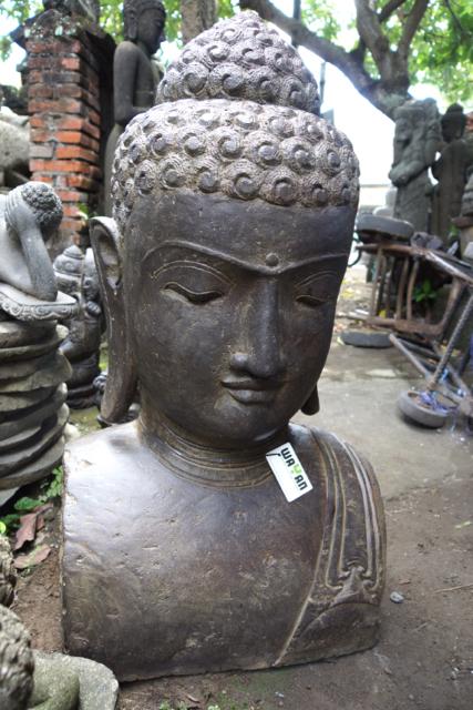 exzellente Buddhabüste Asiatika