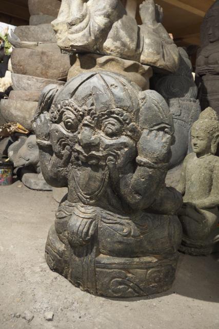 handgeschlagener Ganesha