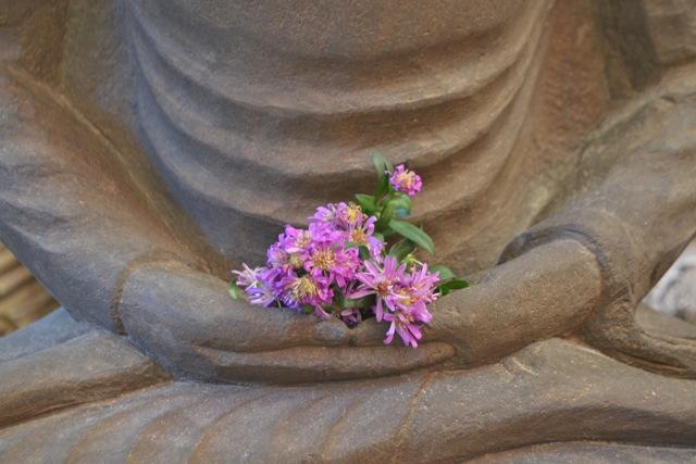 Buddha in der Lotushaltung