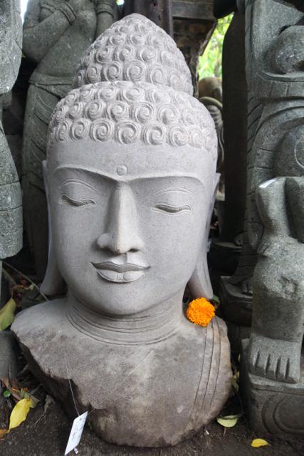 echter Riverstone  Buddha aus Asien