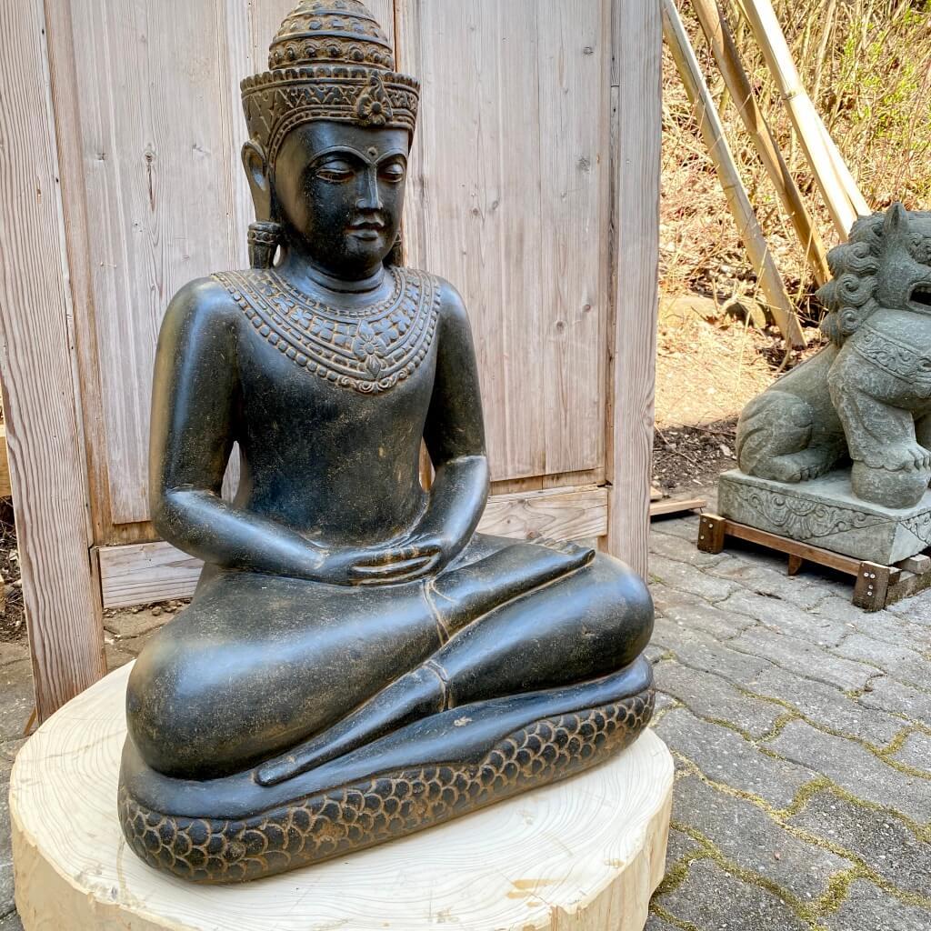 Echter Kaschmir Buddha 80 cm