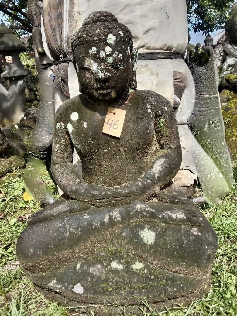 Monsoon Buddha Steinstatue 64 cm