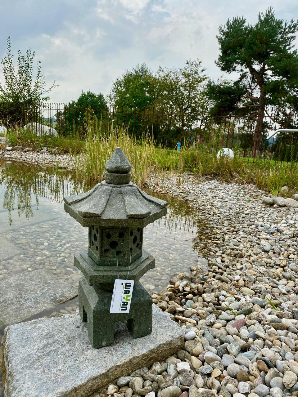 Steinlaterne Japangarten 60 cm