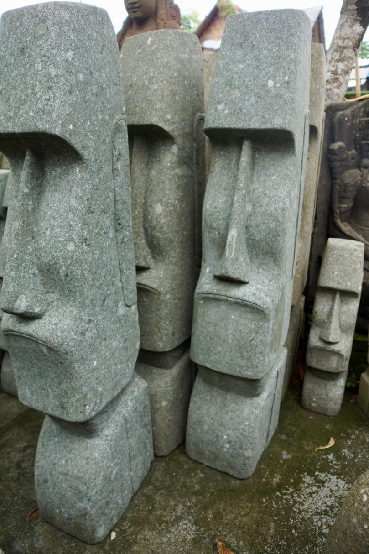 Moai Osterinselfiguren