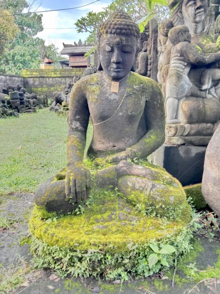 monumentaler Monsoon Buddha 140 cm