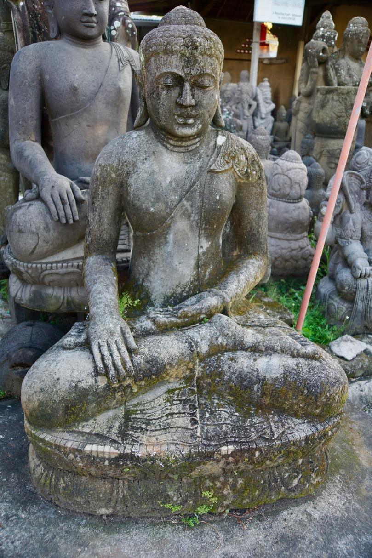 große Buddhastatue Monsoon 150 cm
