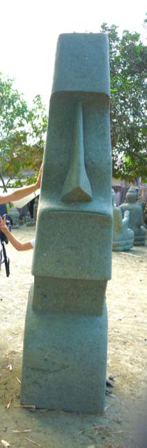 Moai Osterinsel Statue