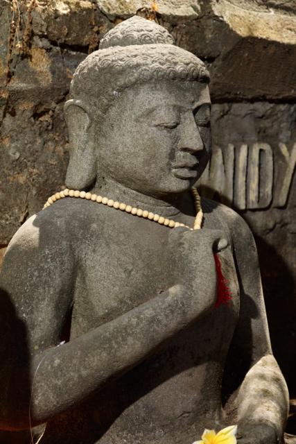 echter Bali Buddha