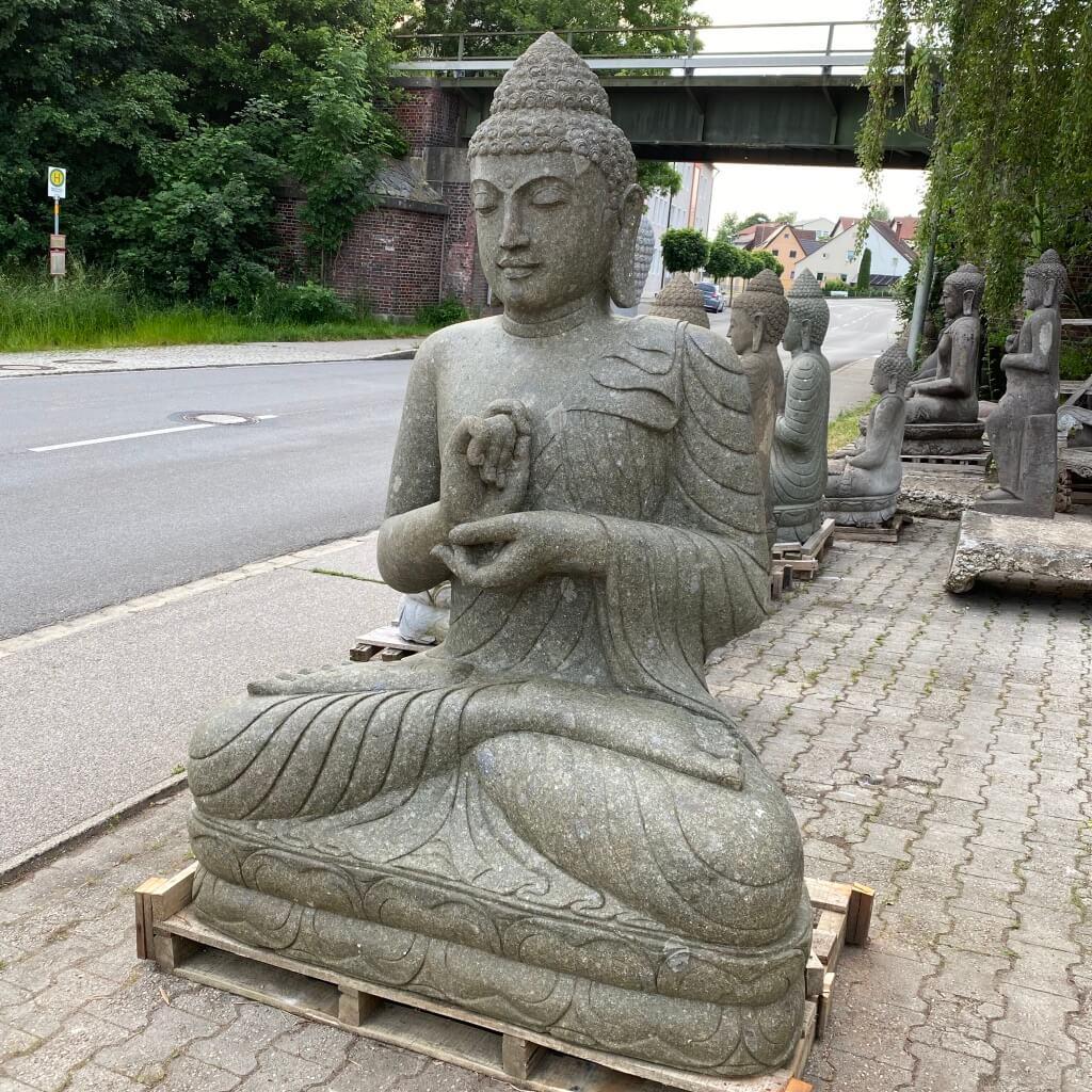 Großer, mächtiger Bali Buddha 190 cm
