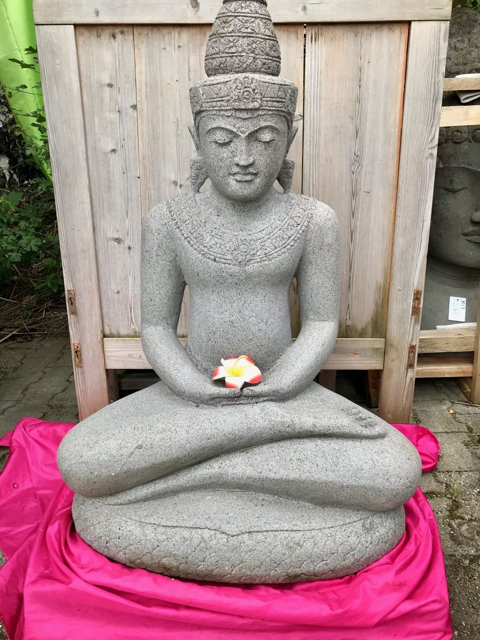 Klassischer Kaschmir Buddha 100 cm
