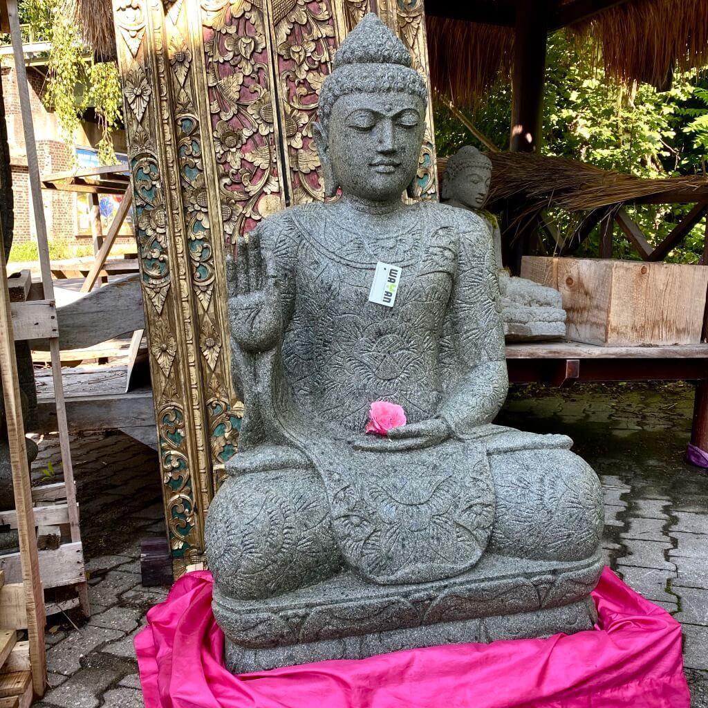 perfekter Batik Buddha  131 cm