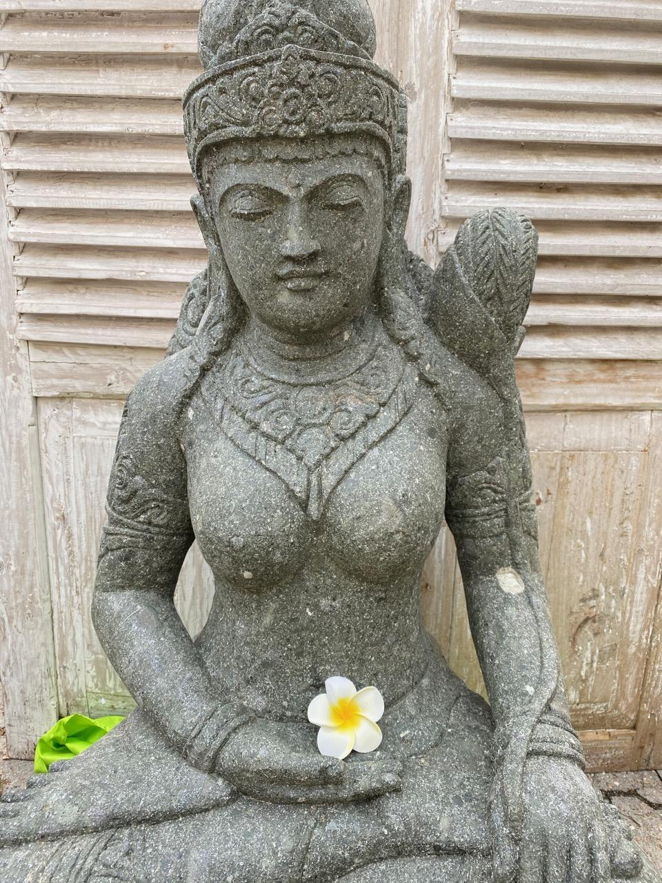 Göttin Dewi mit Glanz und Gloria 101 cm