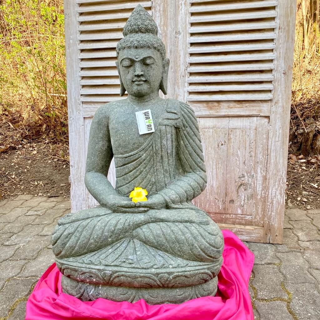 Buddhaskulptur Tempelstatue 100 cm