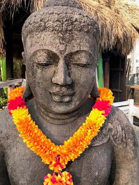 Antikbuddha für den Garten
