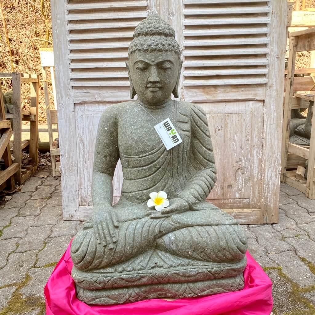 Buddha Mudra Erdberührung 86 cm