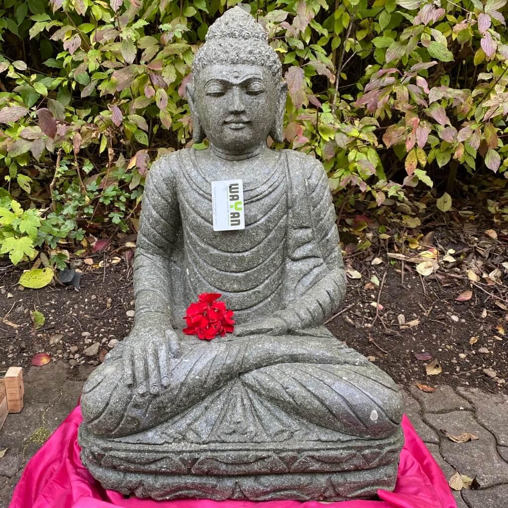 Buddha Foo Steinskulptur 77 cm