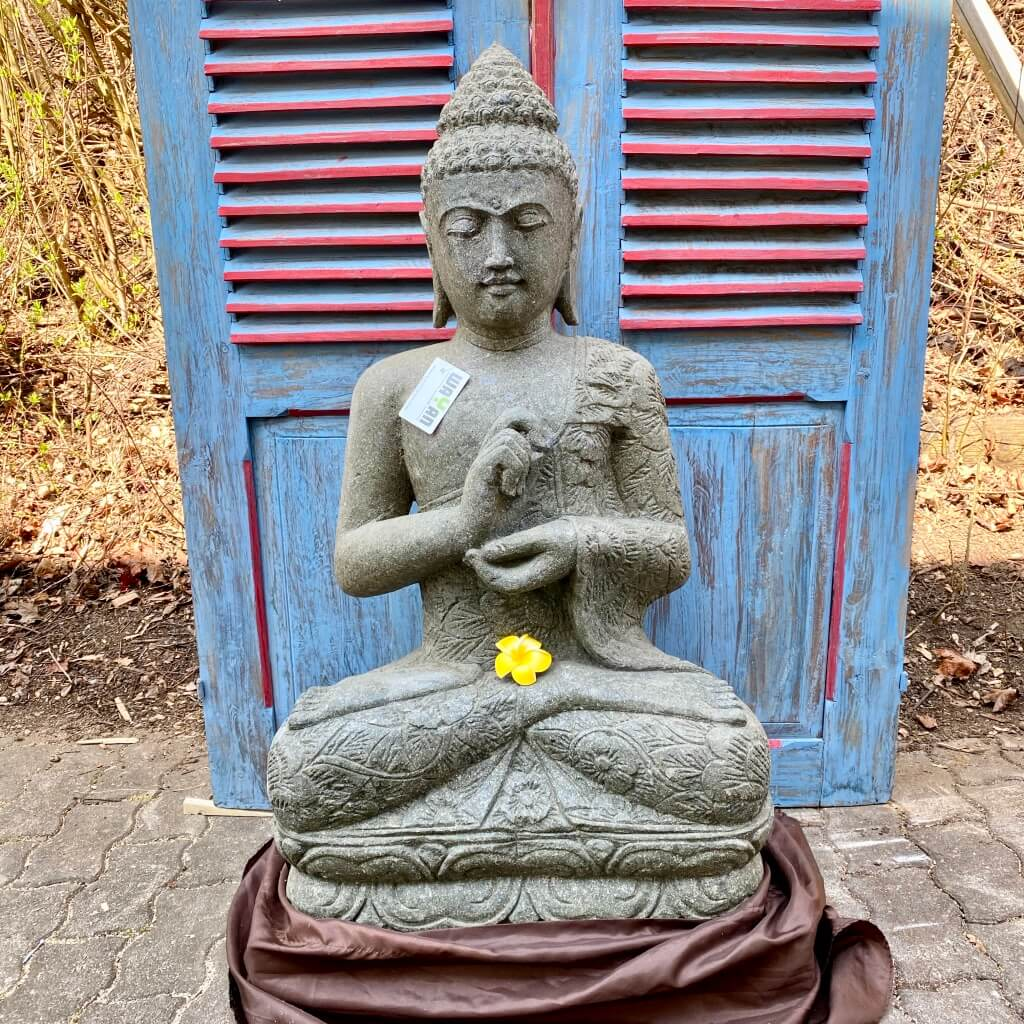 Bali Buddha mit Batikdress  102 cm