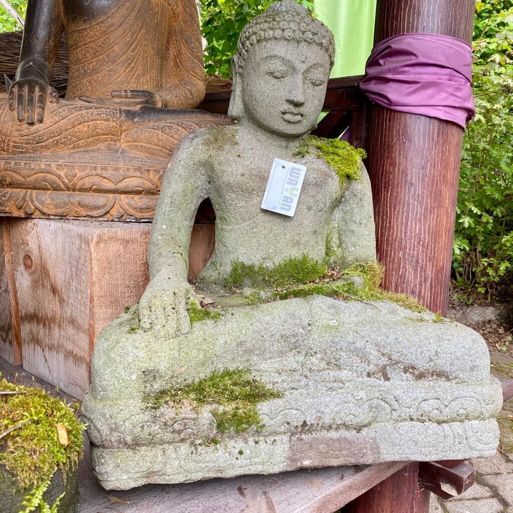 Monsoon Buddha Steinfigur 70 cm
