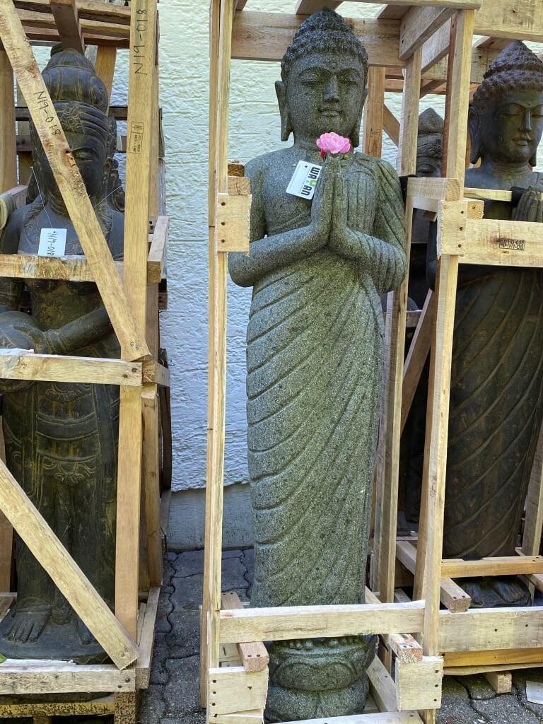 Buddha stehend in grüßender Haltung 150 cm