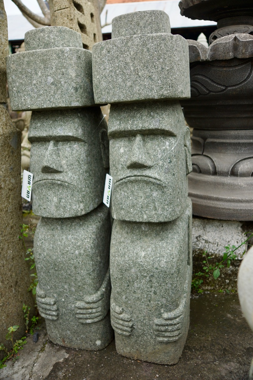 Moai Osterinselfigur Tiki 120 cm