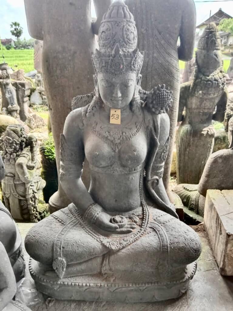 Prachtvolle Göttin Dewi 123 cm