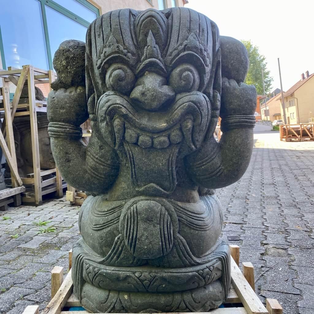 Elefantengott Ganesha Steinfigur 100 cm