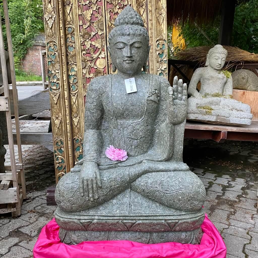 Buddhaskulptur Gewährungsgeste 122 cm