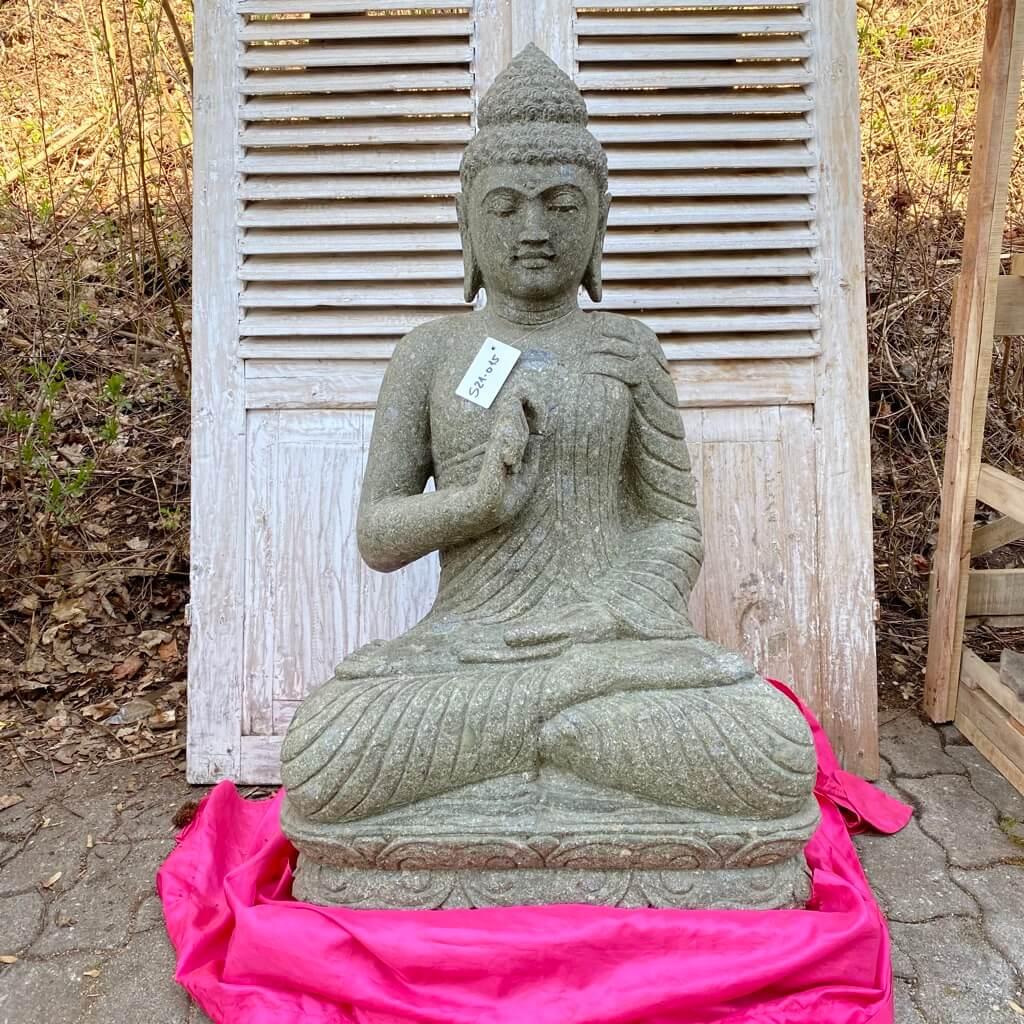 Buddha Gartenskulptur 104 cm