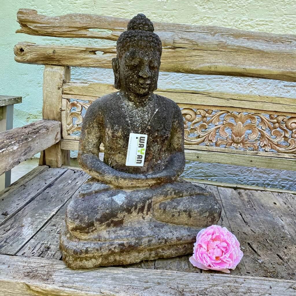 Monsoon Buddha Skulptur Bali 65 cm