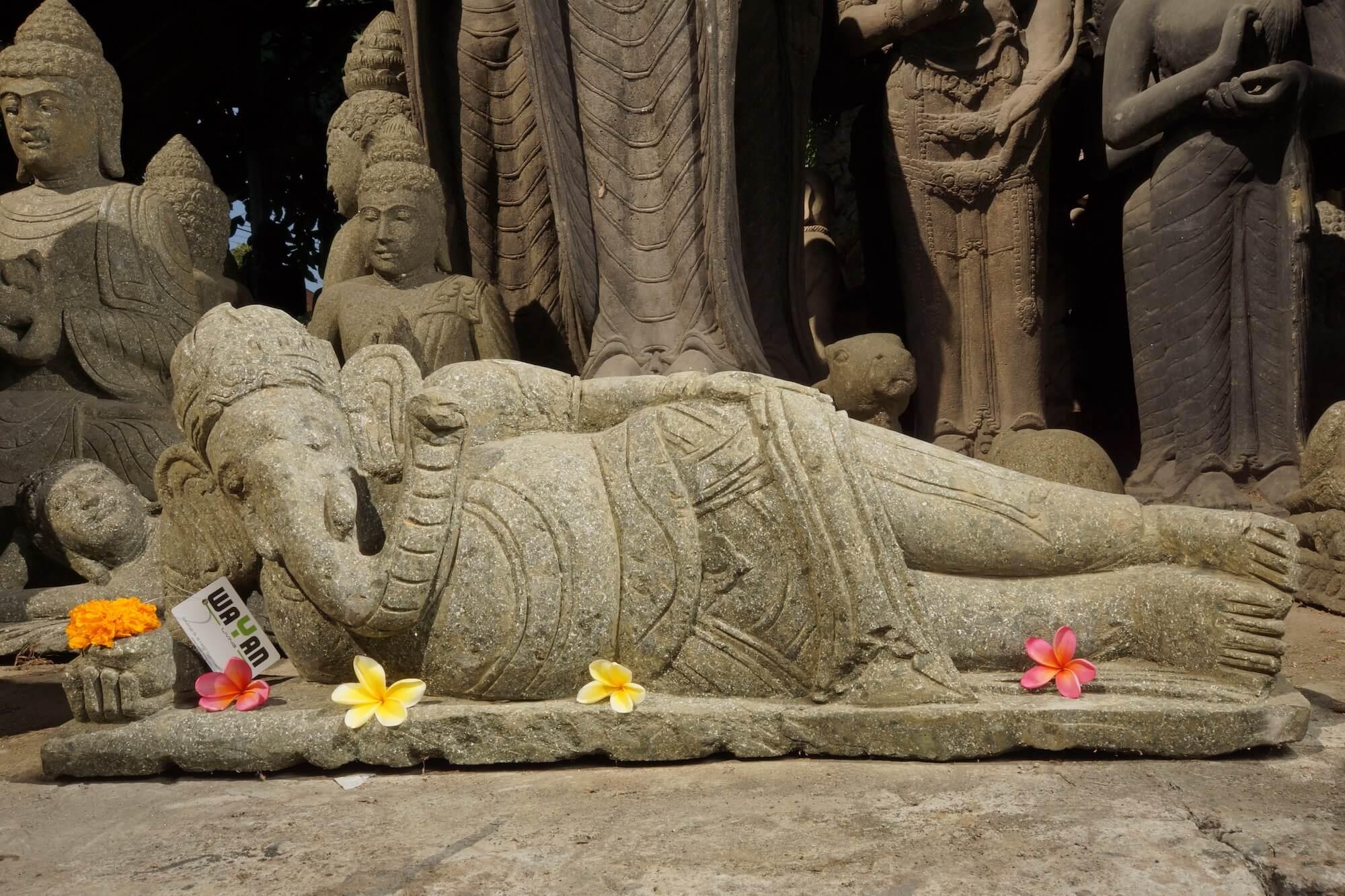Ganesha Elefanten- gott-Skulpturen