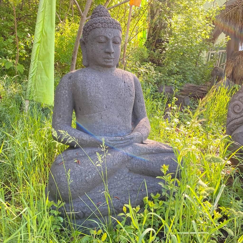 Antiker Monsoon Buddha 120 cm