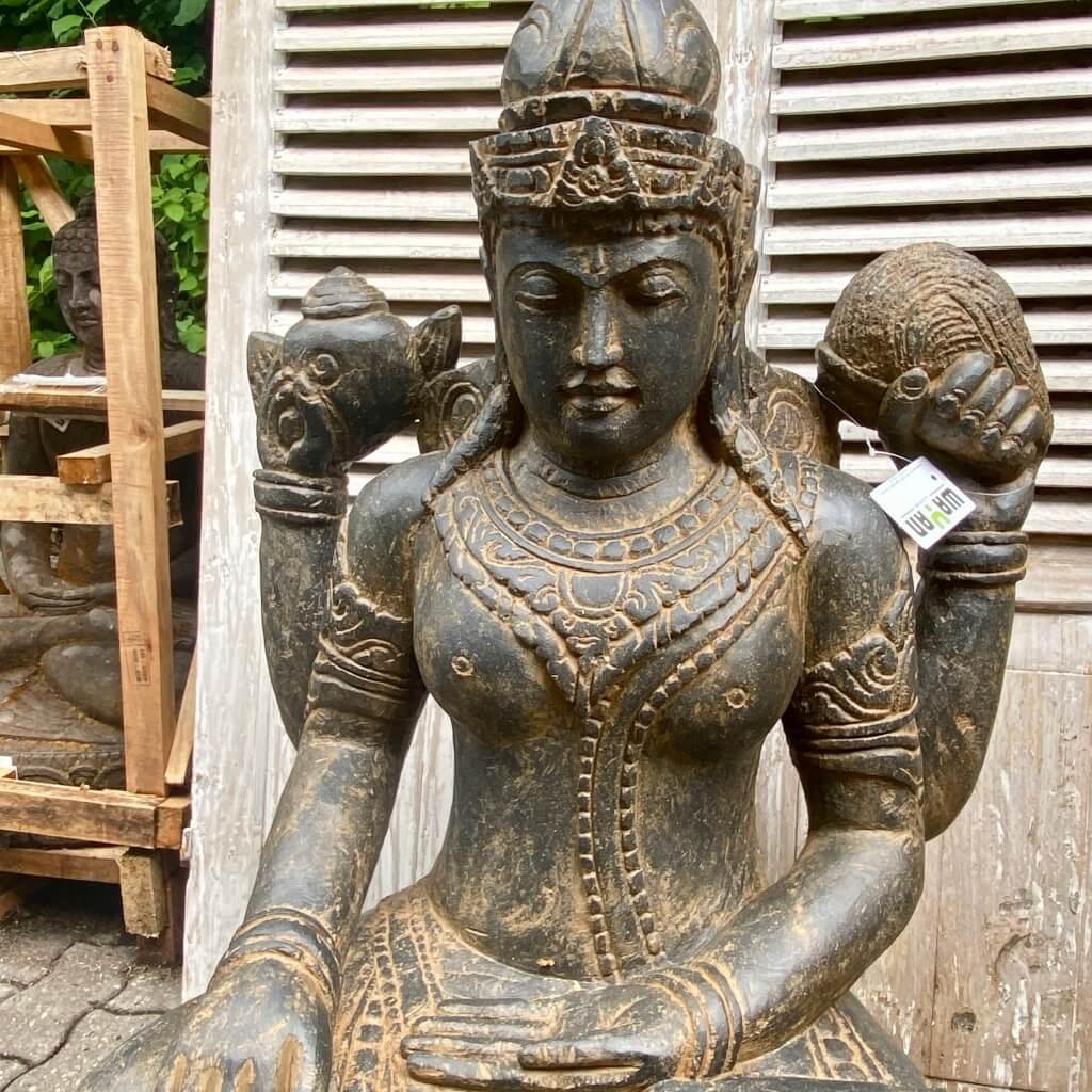 Göttin Dewi Steinstatue 105 cm