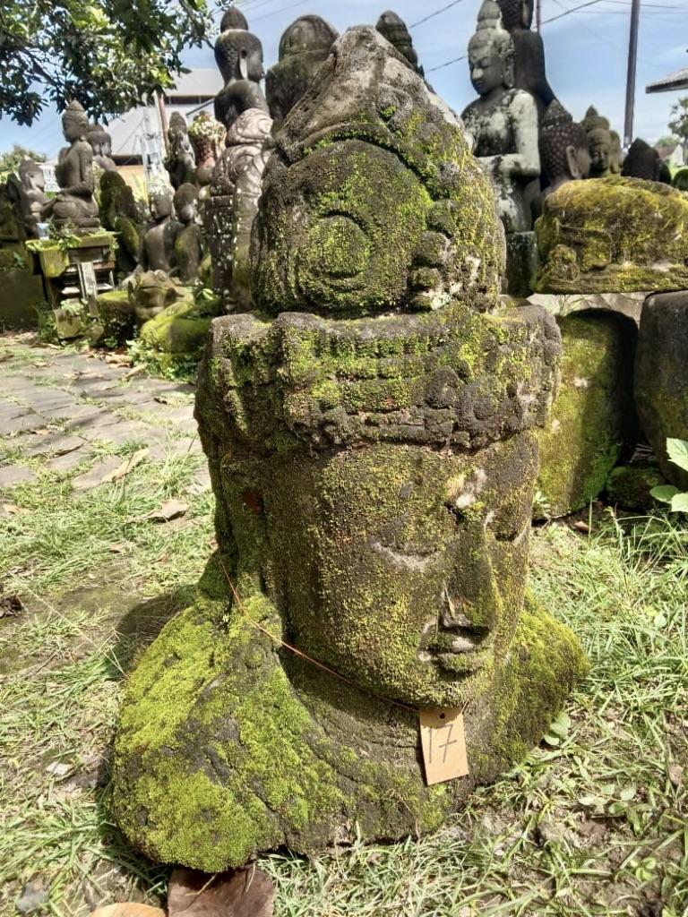 Dewi Büste Steinfigur 70 cm