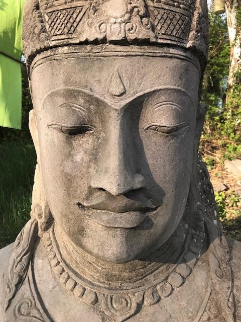 Göttin Dewi Steinfigur